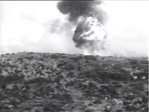חיל האוויר מפציץ מוצבים סורים ברמה