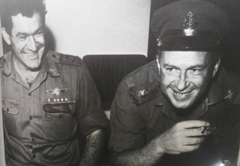 יצחק ורבין ודדו בתקופת ההמתנה למלחמת ששת הימים