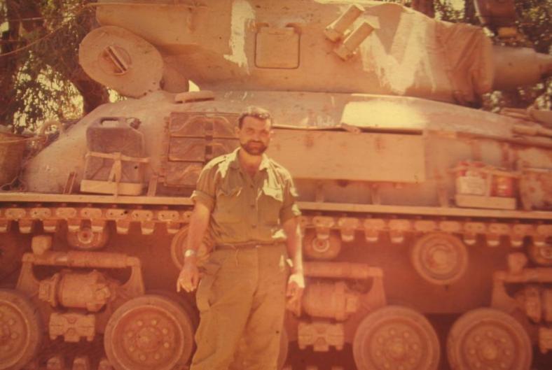 אלוני זמורה 1967, בקיבוץ דן, לפני העלייה לרמה