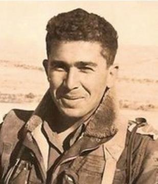 ראובן אליעז, מפקד הסיירת ב-1967. צילום: יהונתן שאול