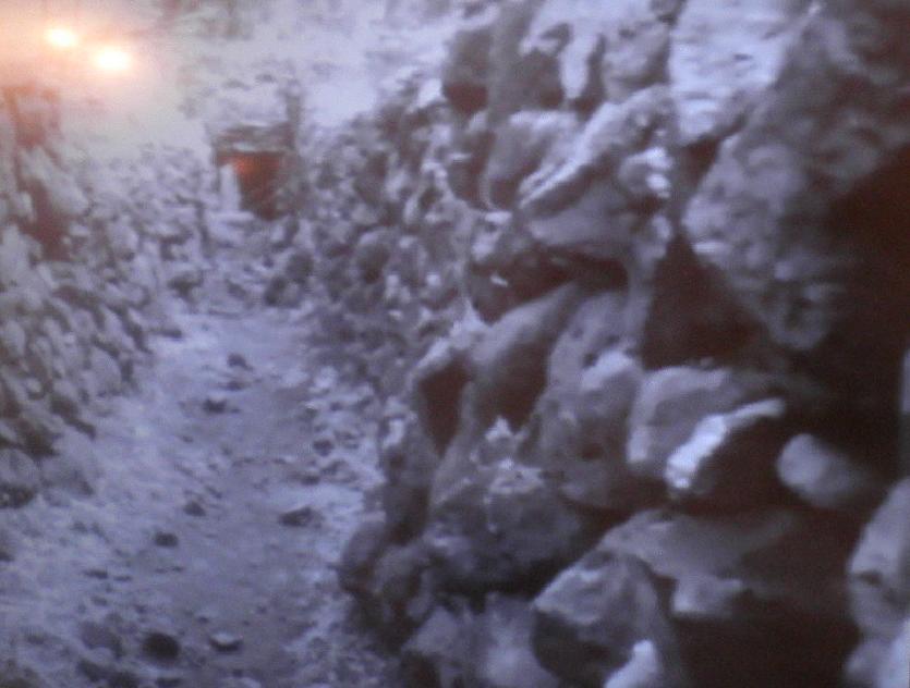 תל פאחר 1967 (האורות משמאל - תאורת צילום)