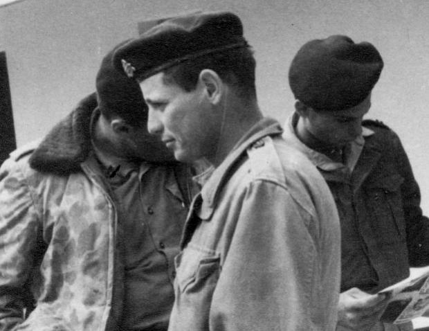 """גדעון נוימן בשנות השישים. """"שלחו את הטנקים בשורה כמו ברווזים במטווח"""""""