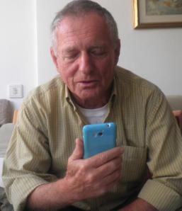 רגע מרגש. אייזנברג משוחח בטלפון עם יאיר ישי