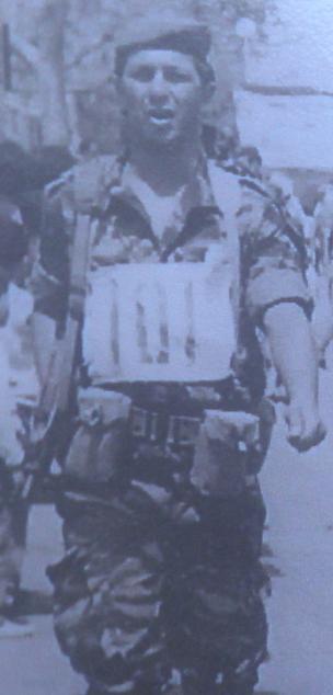 אברהם סולוביץ' במצעד בירושלים 1967, חודש לפני שנהרג