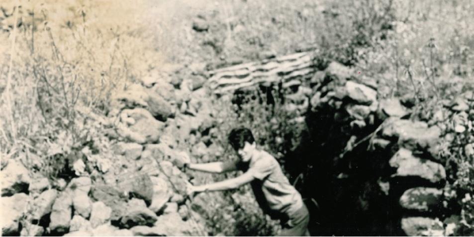 """1968, רימר חוזר לראשונה לתל פאחר. """"הסתכלתי מהמוצב אל העמק וחשבתי - מי היו החצופים שרצו שנכבוש דבר כזה?"""""""