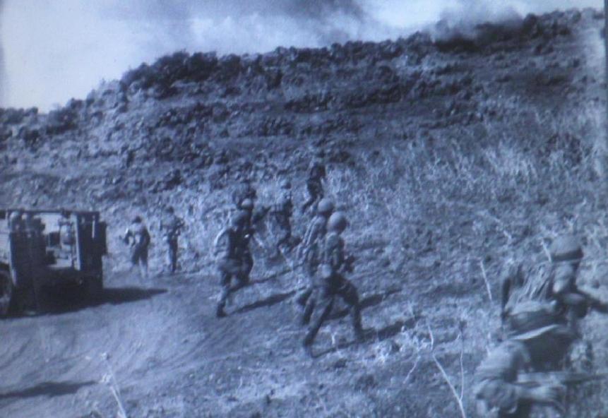 """מתוך שחזור כיבוש תל פאחר (צילום: ארכיון צה""""ל)"""