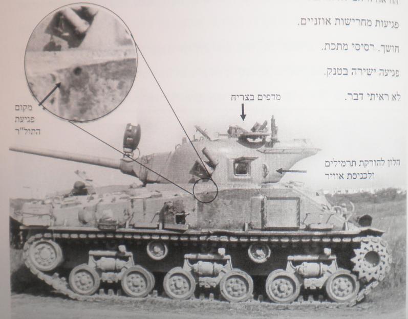 הפגיעה בטנק ברוש