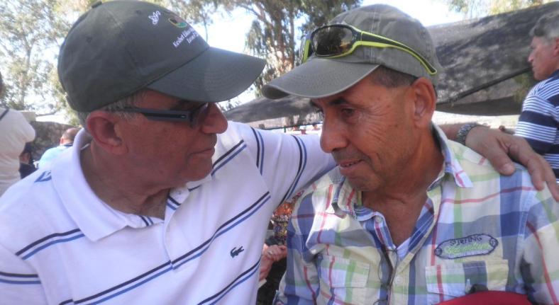 מרקי אסף (מימין) ושמוליק מוראד
