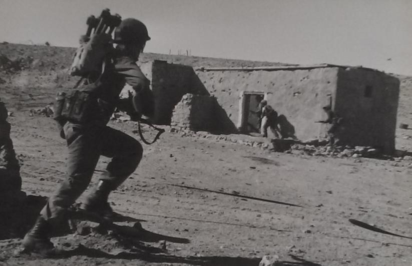 גדוד 13 בזעורה (צולם באימונים לאחר המלחמה)