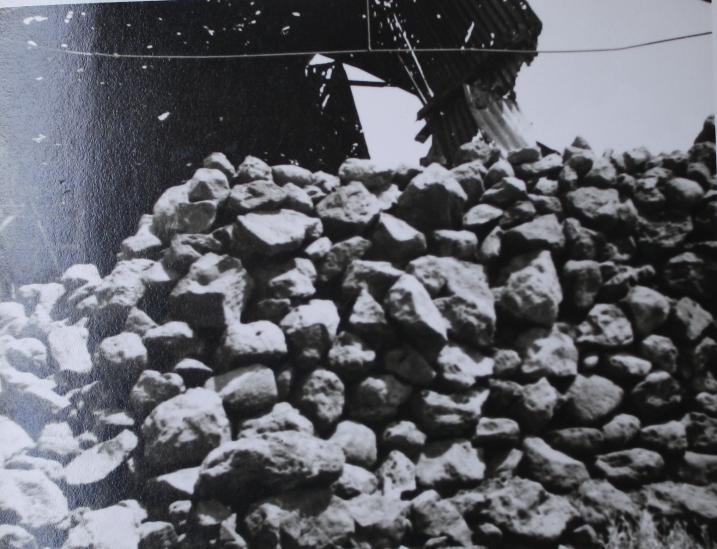 גדר האבנים סככה