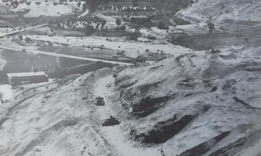 טנקים בתל חמרה