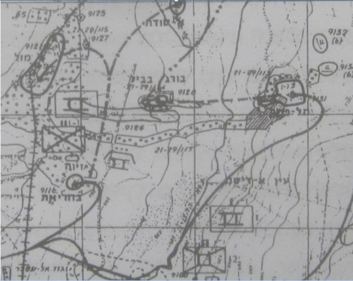 מפה מספרו של מייזל