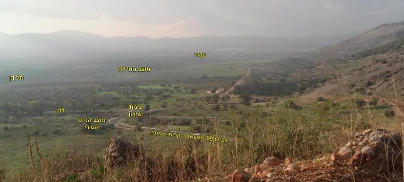 למרגלות תל חמרה: שליטה סורית מוחלטת על הפינה הצפון מערבית של גבול ישראל ב-1967