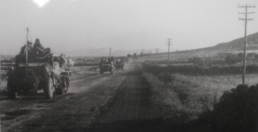 10 ביוני 1967, כוחות חטיבה 37 בדרך מצומת וואסט לקונייטרה