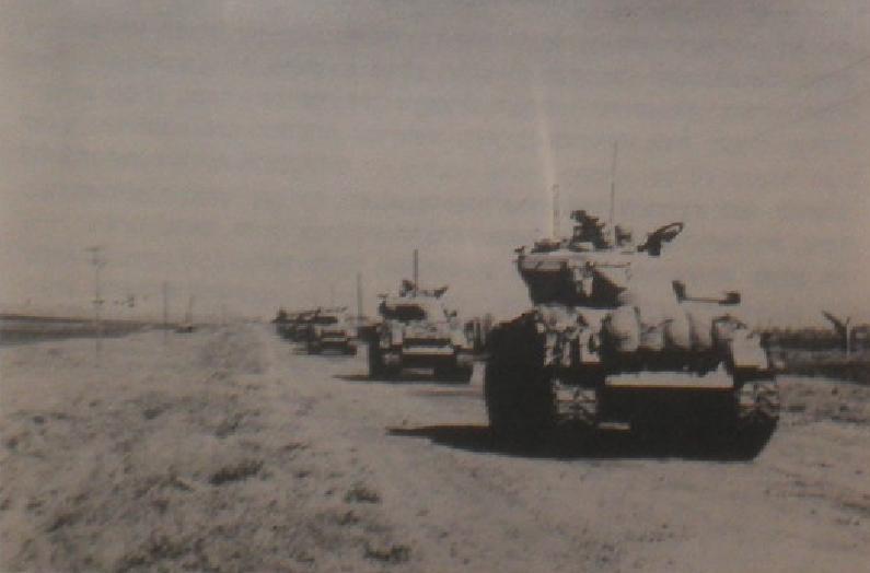"""חטיבה 37 בדרך לקונייטרה (ארכיון צה""""ל)"""
