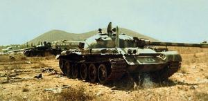 """טנקי T-62 סורים שנפגעו במלחמת יו""""כ"""