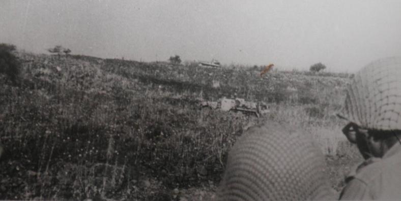 """חטיבה 37 עולה מאיזור גונן למוצבי ראוויה [צילום: ארכיון צה""""ל]"""