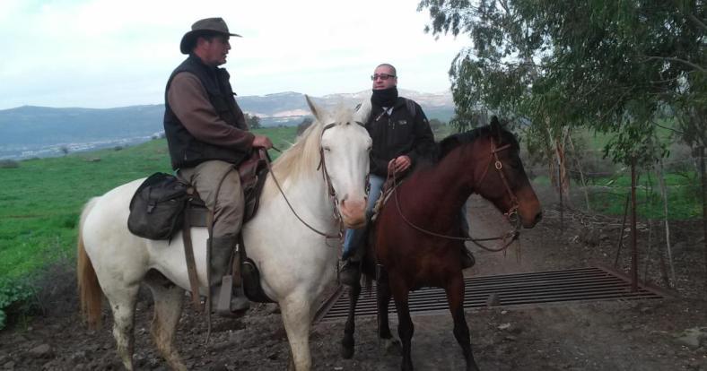 רוכב על הסוס