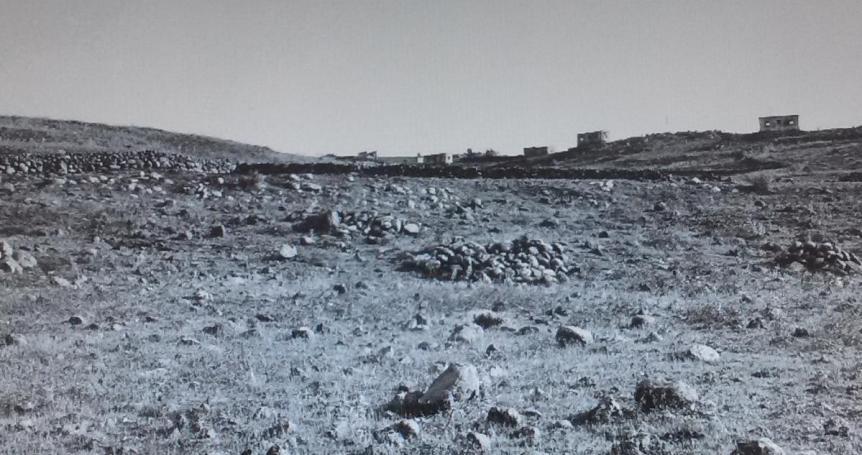 """כפר קלע 1967 - עמק הבכא של גדוד 129 במלחמת ששת הימים [ארכיון צה""""ל]"""