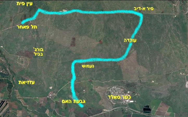 מפת סיירת