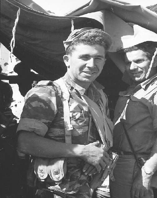 """רובקה אליעז בתקופת מלחמת ששת הימים [צילום: ארכיון צה""""ל]"""