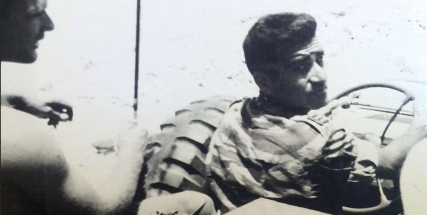 """דוד כהן. בסיירת כינו אותו """"הנמר השחור"""". הגיע במלחמת ששת הימים לעזור לחברו המ""""פ רובקה אליעז"""