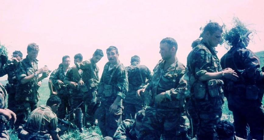 חיילי הגדוד באימון