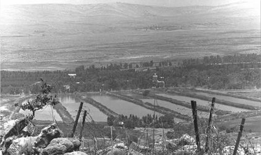 יוני 1967, צילום מתל עזזיאת אל בריכות דן