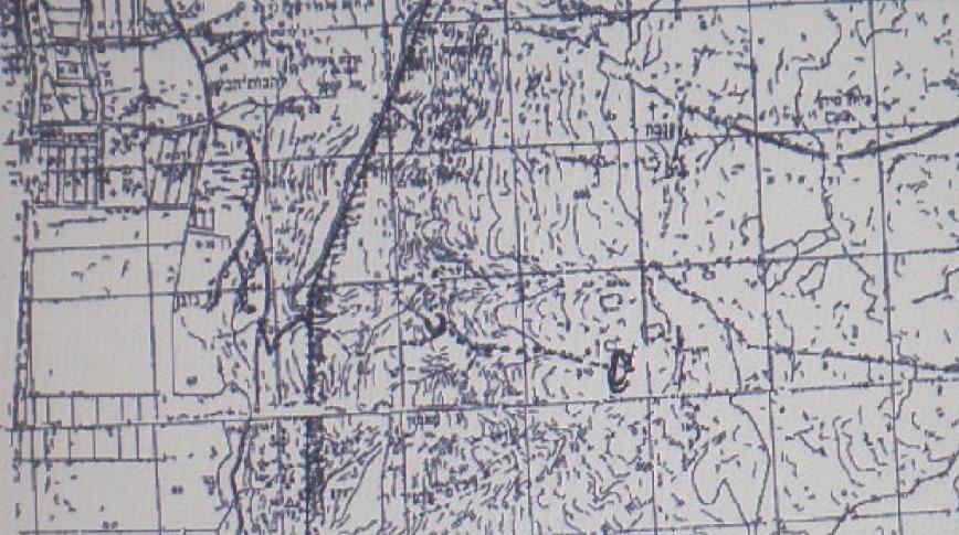 המפה המקורית של יהודה גלר