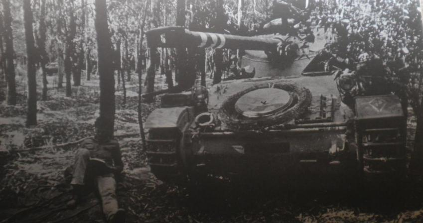 """חטיבה 37 בתקופת ההמתנה [צילום: ארכיון צה""""ל]"""