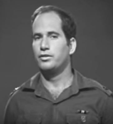"""יהודה גלר 1967 [לאחר שהועלה לדרגת רס""""ן]"""