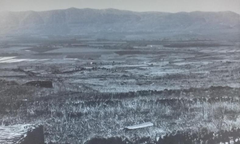 מבט מסיר א-דיב מערבה בצילום מ-1967