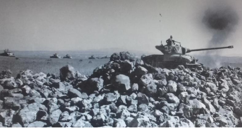 שרמנים מחטיבה 8 ברמה הסורית 1967