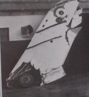 כנף המיג 17 שהופל לכינרת