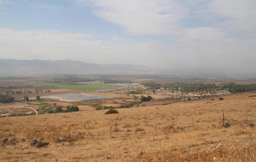 קיבוץ גונן מדרך הפטרולים הסורית