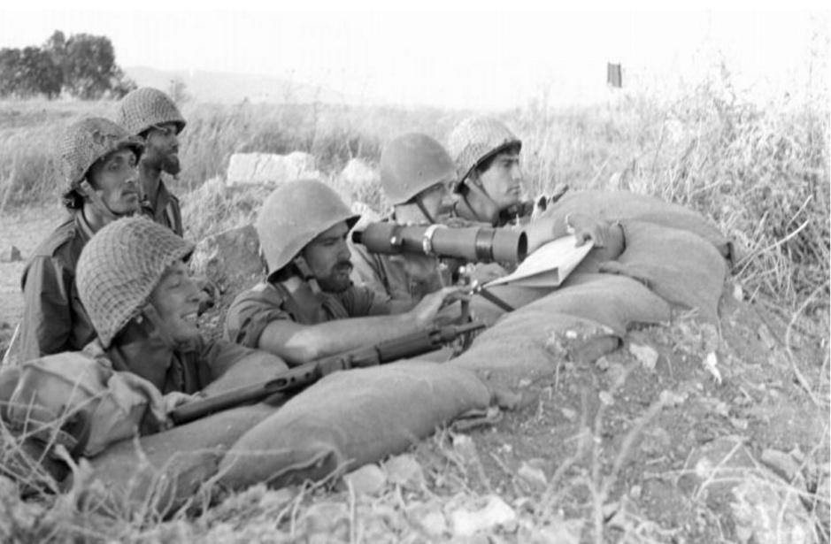 """חטיבה 45 לקראת כיבוש ג'נין [ארכיון צה""""ל]"""