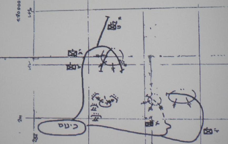 מרשם קרב גדוד 17. כינוס בגונן, עלייה מזרחה אל מוצב 8100, שני כוחות אחרים נעים דרומה לכיבוש מוצבי דרבשיה