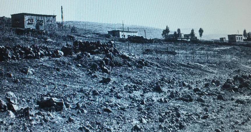 סיר א-דיב בצילום מסוף 1967