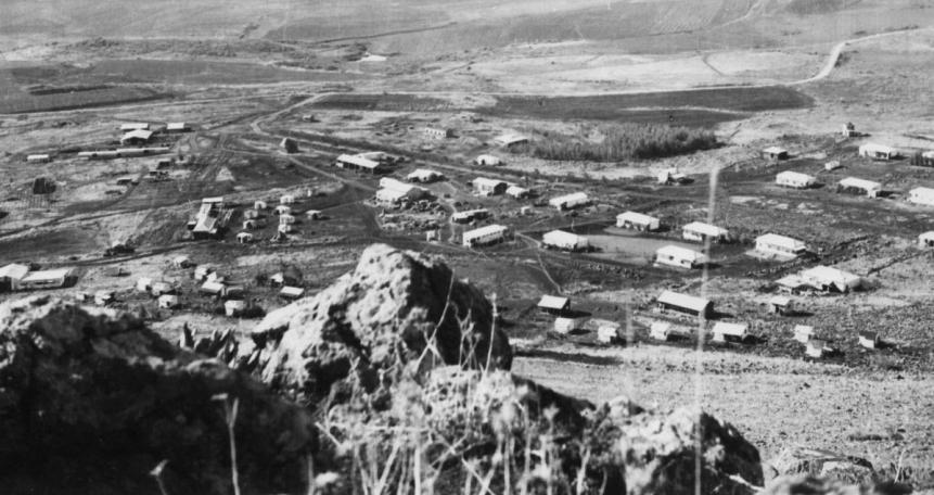 ממרומי המצוק. כך ראו הסורים את כפר סאלד