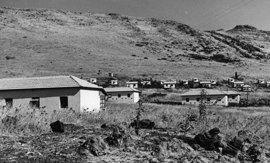 כפר סאלד והרמה הסורית