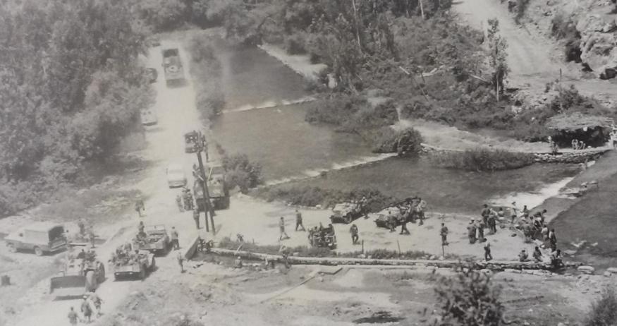 """10 ביוני 1967, כוחות צה""""ל במעיינות הבניאס"""