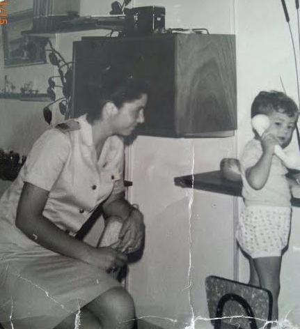 סגן אהובה גהל ב-1967