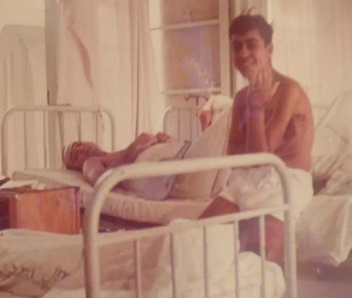 פצועי גדוד 12 בבית החולים