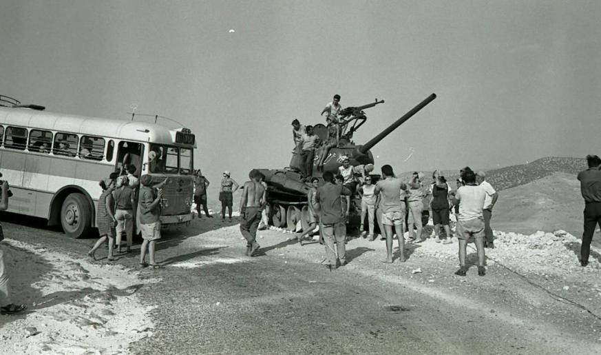 ישראלים ברמה, 1967