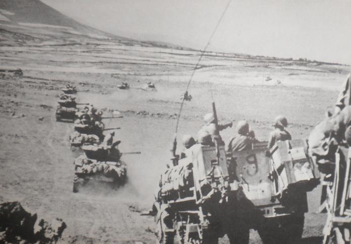 חטיבה 45 בתנועה ברמה הסורית