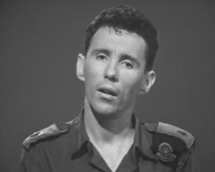 """אהרון טנא, 1968, מ""""פ הנדסה של חטיבה 45 במלחמת ששת הימים"""