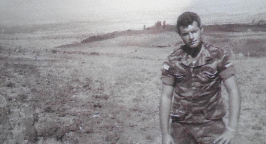 זאב באום בתל פאחר, 1967