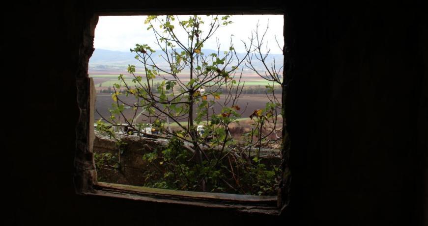 חלון של בית בג'לבינה אל השדות של גדות, איילת השחר וחולתה