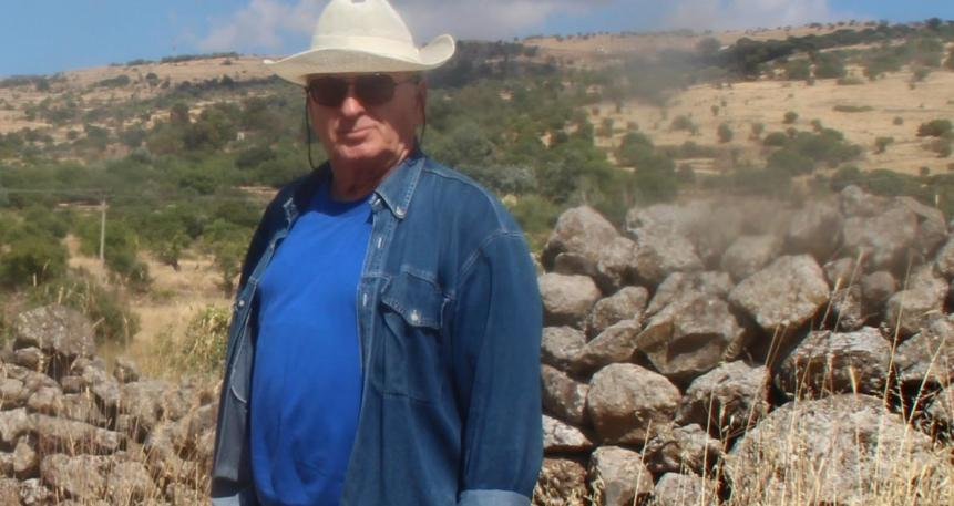 מוטי רוזנבלום 9.6.2016, במקום בו נהרג אחיו