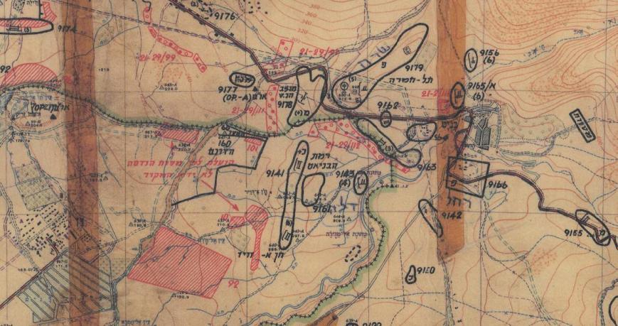 מפת 1967